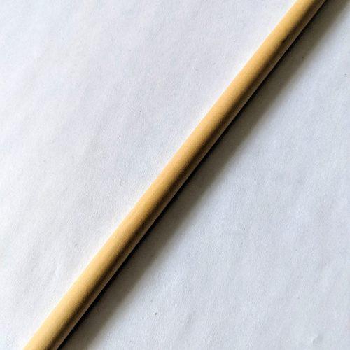 Close up bamboo straw